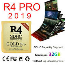 R4 Gold Pro SDHC Revolution for 3DS DSi XL DSL DS Cartridge+Adapter+32G Set