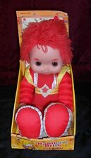 "Red Butler, Friend Of Rainbow Brite, 18"" Plush In Original Box, 2003, Cute!"