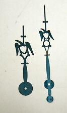 Pair of Eagle Hands for Wood Works Clock, Wooden Works Shelf Clocks