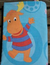 The Backyardigans Twin Flat Bed Sheet Uniqua Pablo Tyrone Bedding