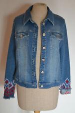XANDRES Belgium Jacke/Jeans,Gr.38,blau/denim,fantasievoll,elegant,schön,neu!