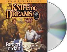 Robert Jordan Knife Of Dreams Audio Book CD Set Incudes Interview with Author