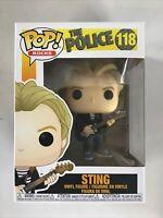 Funko POP! The Police Sting #118  Vinyl Figure