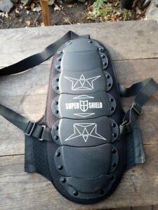 Super Shield Rückenprotektor, Motorrad, Skifahren, Snowboard, schwarz