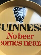 Guinness Old Ireland Bar Tray with Outer Writing Ex+++ Collectible