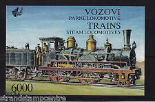 Yugoslavia - 1992 Steam Railway Locomotives Booklet - U/M - SG 2801-2806
