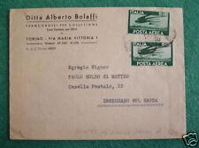 SCL1 ITALIA 1948 BUSTA BOLAFFI DA ARCHIVIO STORICO P.A.