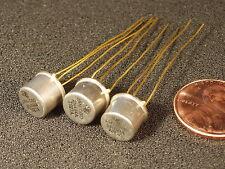 Qty 3: TESTED! 2N494 Unijunction Transistor (2N489 2N490 2N491 2N492 2N493) READ