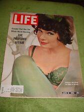 LIFE MAGAZINE JUNE 1963 REAL LIFE THE CROWN BRITISH WAR MINISTER PROFUMO AFFAIR