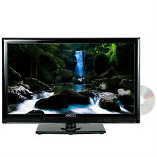 """AXESS TVD1801-24 24"""" LED AC/DC TV with DVD Player Full HD with HDMI, SD card..."""