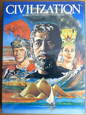 Board Game - Civilization Avalon Hill 1980 New & Sealed