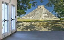 Chichen Itza-Wall Mural-12'wide by 8'high