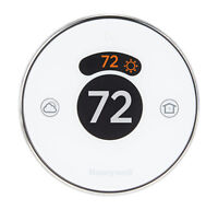 Honeywell RCH9310WF5003 Lyric Round Wi-Fi Programmable Thermostat Heat Cooling