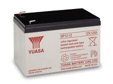 Yuasa NP12-12 12v 12Ah Rechargeable Lead Acid Battery