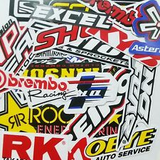 60 MIXED RANDOM STICKER DECAL CAR ATV BIKE RACING HELMET MOTORCROSS DIRT BMX # B