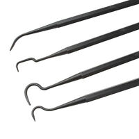 4pcs Nylon Solid Color Double Ended Gun Cleaning Crafts Outdoor Pick Tool Kit