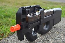 Auction One Air Soft Well D90F Full Auto Electric Sub Machine Airsoft  P90