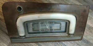 Rare! 1939 Hudson Country Club Glove Box Door and working Clock