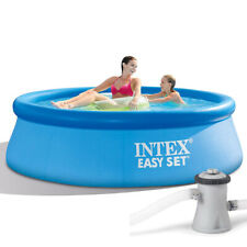 Intex Fácil Set Quick Up Pool 244 X 76CM Incl. Bomba de Filtro Piscina