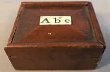 More details for victorian spelling alphabet bovine bone letters in a box