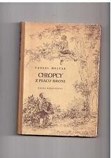 Ferenc Molnar Chłopcy z placu broni il L Janecka 1955 Polish book for children
