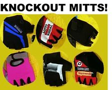 CLEARANCE NEW Padded Cycling/Gym Mitts/Fingerless Gloves Vermarc-Speedx UK STOCK