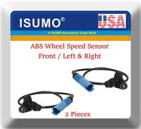 ABS Wheel Sensor Front Left and Right Fit Dodge Caliber 2007-2012 Jeep Compass Patriot 2007-2016 5105573AA 5105573AB 5105572AA 5105572AB