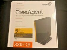 NEW Seagate FreeAgent 320 GB,External,7200 RPM (ST303204FDA1E1-RK) Hard Drive