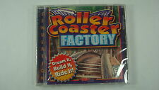 Roller Coaster Factory (PC, 2000) Simulation Video Game Build Ride Sealed