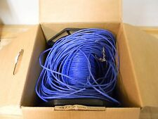Carol  Riser Rated Data Transmission Cable Blue 1000 ft.  Cat 5e