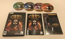 Star Wars Knights Of The Old Republic 2 II Sith Lords PC CD-ROM Complete PAL