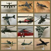 Jet Fighter Military Diecast Model Aircraft Corgi Showcase Helicopter B52 F16