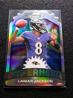 2019 Contenders Optic Lamar jackson Supernova Case Hit SP Ravens