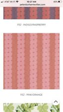 Peter Dunham Textiles Fez Stripe Linen Fabric Remnant