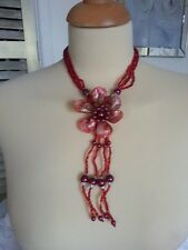 5 x Shell & Bead Necklaces