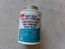 OATEY GREAT BLUE PIPE JOINT COMPOUND 8 FL OUNCE - NEW