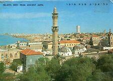 Ancienne carte postale-Tel-Aviv, lacs from Ancient Jaffa