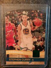 2010-11 Donruss Die-Cuts Emerald # 189 Stephen Curry Golden State Warriors
