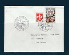 FRd enveloppe Fleurs  Floralix  fete des mères  45 Orléans 1967