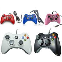 New USB Wired Gamepad Controller For MICROSOFT Xbox 360 & Slim PC Windows 7 UK