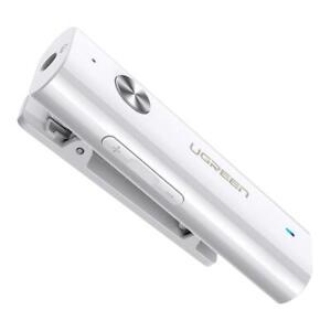 UGREEN Bluetooth 5.0 aptX 3.5mm Audio Adapter HiFi Sound Qualit Built-in Battery