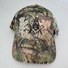 New With Tags Freemasons Masonic Homes Kentucky Mossy Oak Camo Strapback Hat Cap