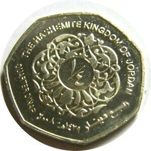 elf Jordan 1/4 Dinar AH 1429   AD 2008