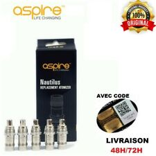 RESISTANCES AUTHENTIQUES ASPIRE NAUTILUS COIL 1,8 OHM