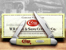 CASE XX Yellow Pen Knife CV 1/500 Pocket Knives