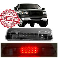 For 2004 2008 Ford F150 LED Clear Black 3rd Brake Light Stop Tail Cargo Lamp