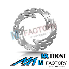 Front Brake Disc MX Rotor x1 Fit HONDA XR 250 R 95-04 96 97 98 99 00 01 02