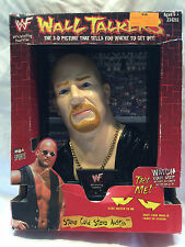MGA SPORTS WWF WALL TALKERS STONE COLD STEVE AUSTIN TALKING 3D PICTURE IN BOX