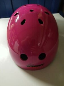 Wipeout Pink Helmet size youth model 888-04 Bike Bicycle Kid Kids Fun *Defects*
