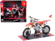 TEAM HONDA CRF450R COLE SEELY #14 1/12 MOTORCYCLE MODEL BY NEW RAY 57933